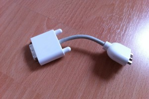 Apple DVI / VGA Adapter